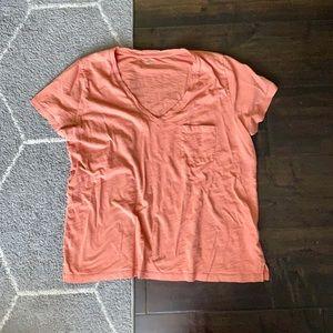Madewell v neck t-shirt